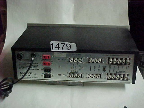 1479: Dynaco PAT-4 stereo pre amp - 2