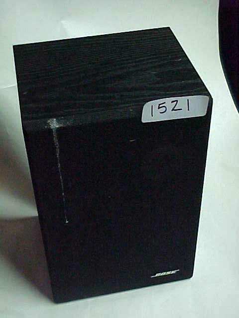 1521: Pair full range Bose model #21 speakers