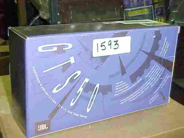 1593: JBL GTS50 car amp 50 Watts
