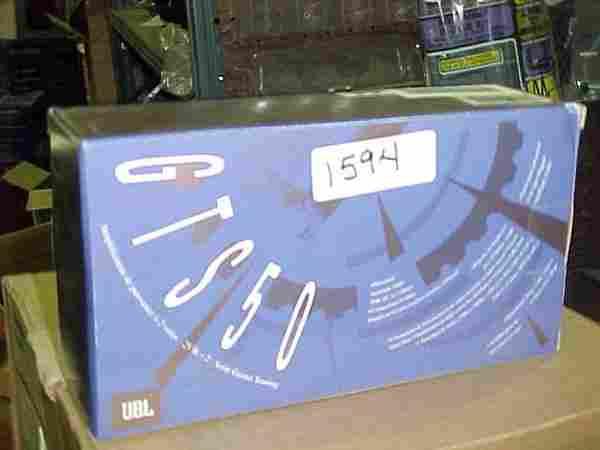 1594: JBL GTS50 car amp 50 Watts