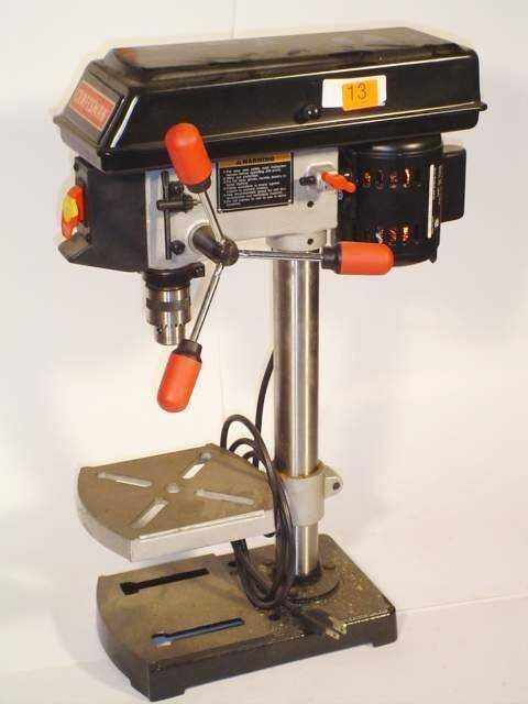 "13: Craftsman bench9"" drill press Model 13721"