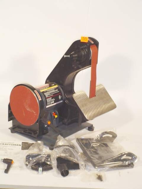 55: Craftsman belt/disc sander Model 13721528