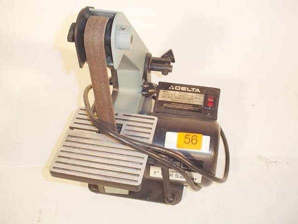 "56: Delta 1"" belt sander, Model 31-050"