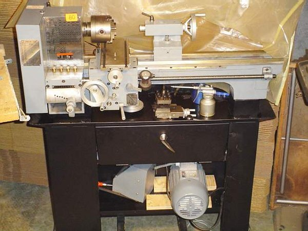 80: Jet metal bench lathe, 3/4HP, Model BD920