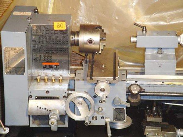 80: Jet metal bench lathe, 3/4HP, Model BD920 - 2