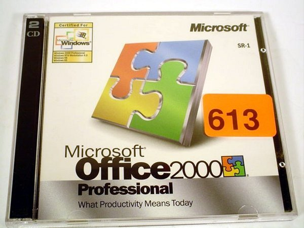 613: Microsoft Office 2000 Professional