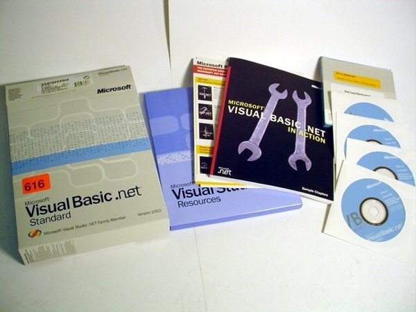 616: Visual Basic.net Standard version 2002