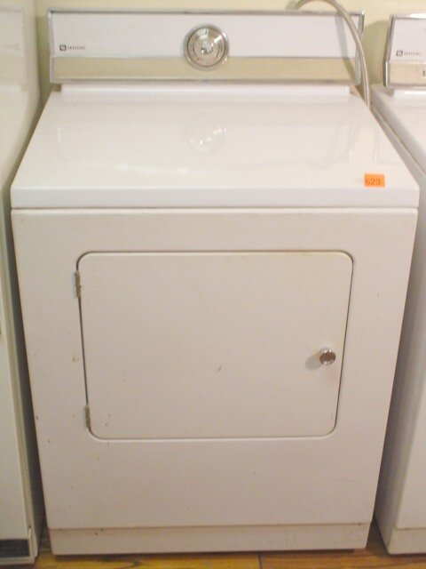 623: Maytag front loading electric dryer