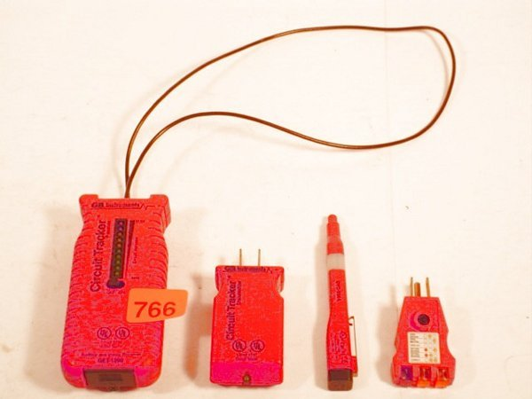 766: Lot of GB Instruments Circuit Tracker