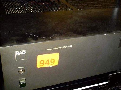949: NAD model: 2150 stereo power amplifier