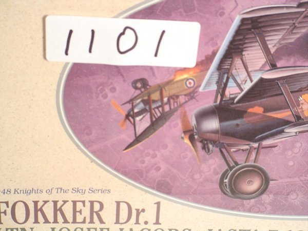 1101: Model Kit DML Fokker Jasta 7, 1918