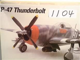 Model Kit Testors P-47 Thunderbolt