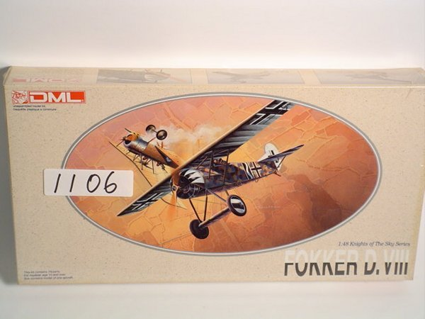 1106: Model Kit DML Fokker D.VII # 5907
