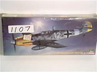 Model Kit Hasegawa Messerschmitt Bf109E