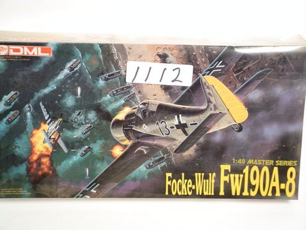1112: Model Kit DML Focke-Wulf FW190A-8