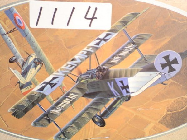 1114: Model Kit DML Fokker Dr.1