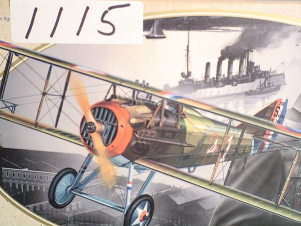 1115: Model Kit DML SPAD 13 & Rickenbacker