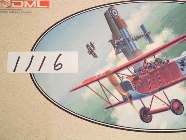 1116: Model Kit DML Fokker D.VII