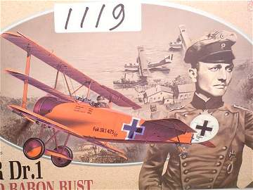 1119: Model Kit DML Fokker Dr.1 & Red Baron