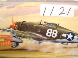Model Kit Hasegawa Republic P-47D Rzrbk