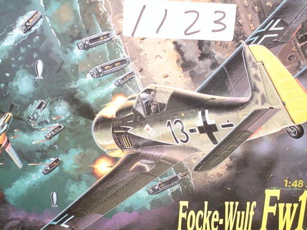 1123: Model Kit DML Focke-Wulf FW190A-8