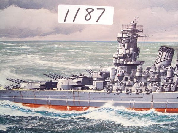 1187: Model Kit Tamiya Jpn. Battleship Yamato