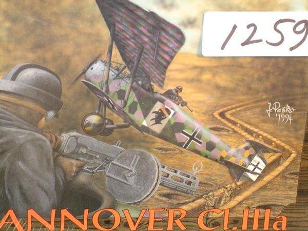 1259: Model Kit Eduard Hannover Cl.IIIa