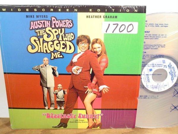 1700: Laserdisc:  Austin Powers: The Spy Who