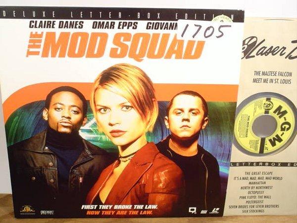 1705: Laserdisc:  The Mod Squad (Claire Danes
