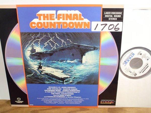 1706: Laserdisc:  The Final Countdown (Kirk D