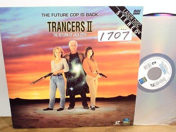 1707: Laserdisc:  Trancers II: The Return of