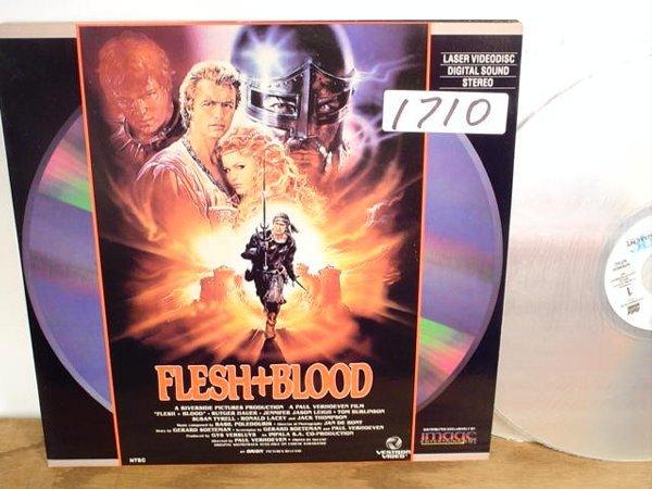 1710: Laserdisc:  Flesh & Blood