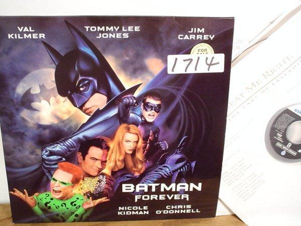 1714: Laserdisc:  Batman Forever