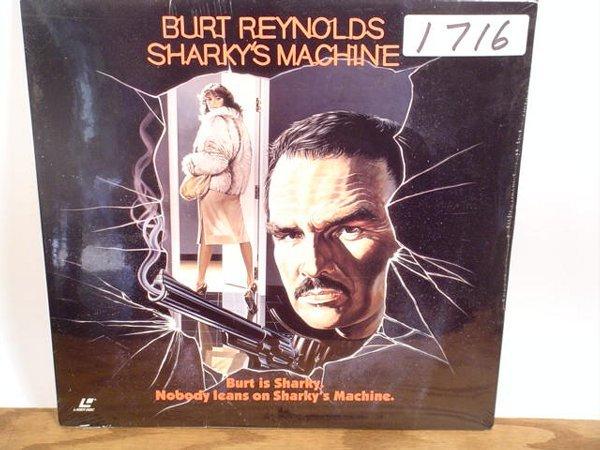 1716: Laserdisc:  Sharky's Machine