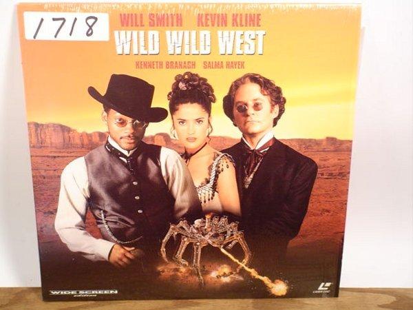 1718: Laserdisc:  Wild Wild West