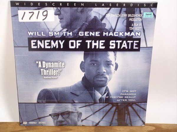 1719: Laserdisc:  Enemy of the State
