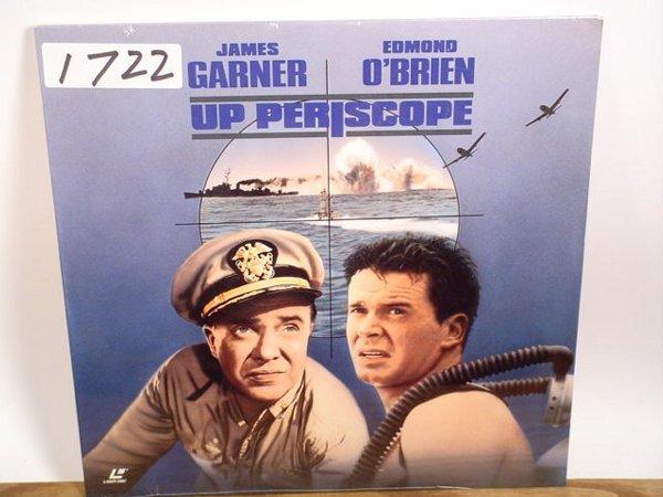 1722: Laserdisc:  Up Periscope (James Garner