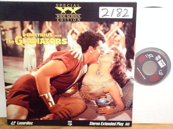 2182: Laserdisc:  Demetrius and the Gladiator