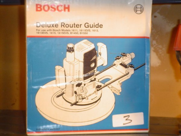 3: Bosch deluxe router guide, Model RA-1051