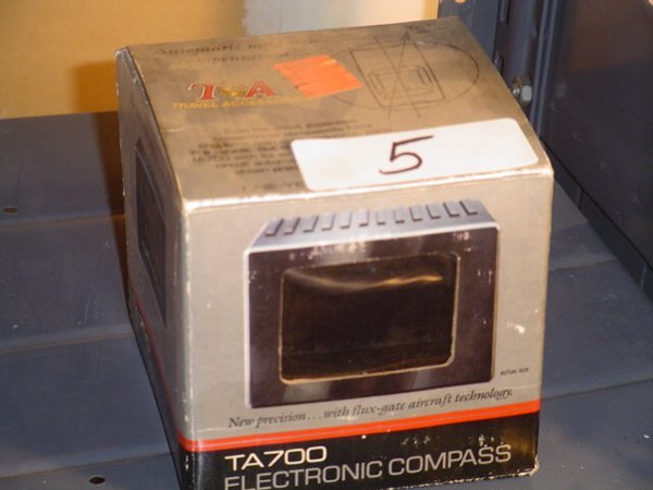 5: Travel Accessories electronic compass
