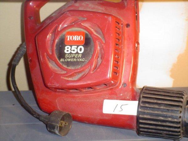 15: Toro 850 Supervac Blower.