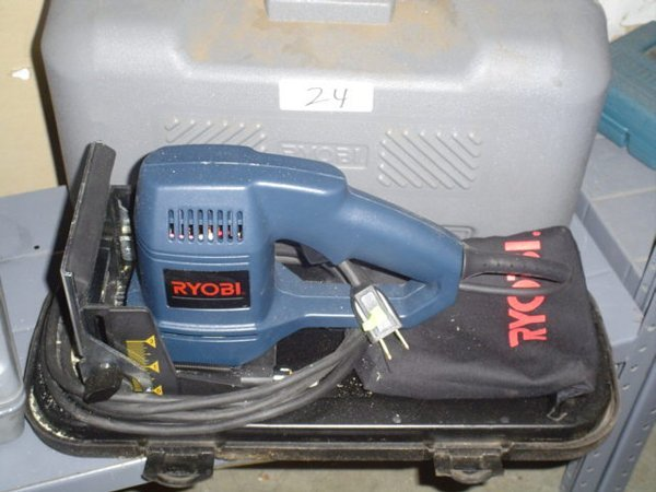 24: Ryobi JM-80 plate jointer