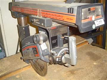"209: Craftsman 2-1/2 HP 10"" diameter radial a"