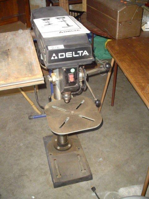 """216: Delta 14"""" bench drill press.  115/230 V"""