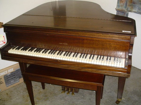 600: Cable Nelson Baby Grand Piano