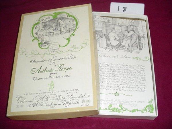 618: Assortment of correspondence notes & envelopes wit