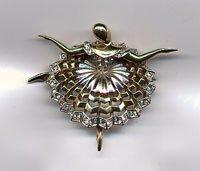 1203: Boucher ballerina pin