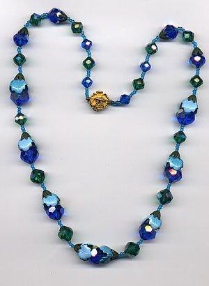 1222: 2 bead necklaces