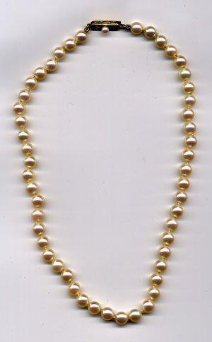 1341: Mikimoto pearl choker