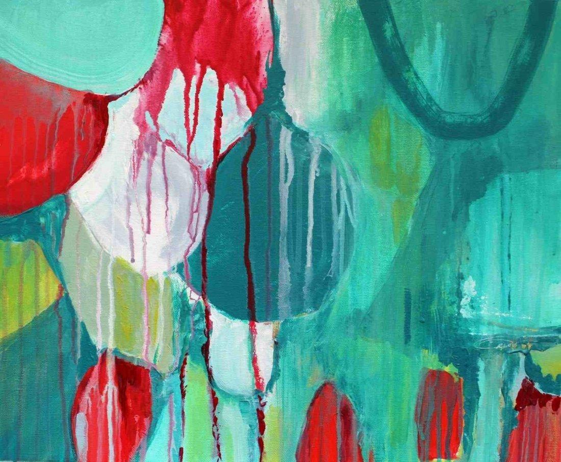 Sensation, Irena Orlov, Acrylic on canvas, 20 x 16 inch